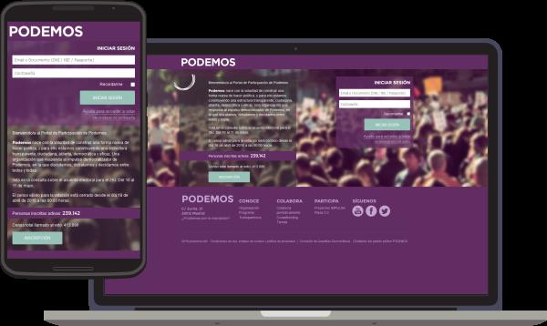 El portal de participació es accesible en totes les plataformes