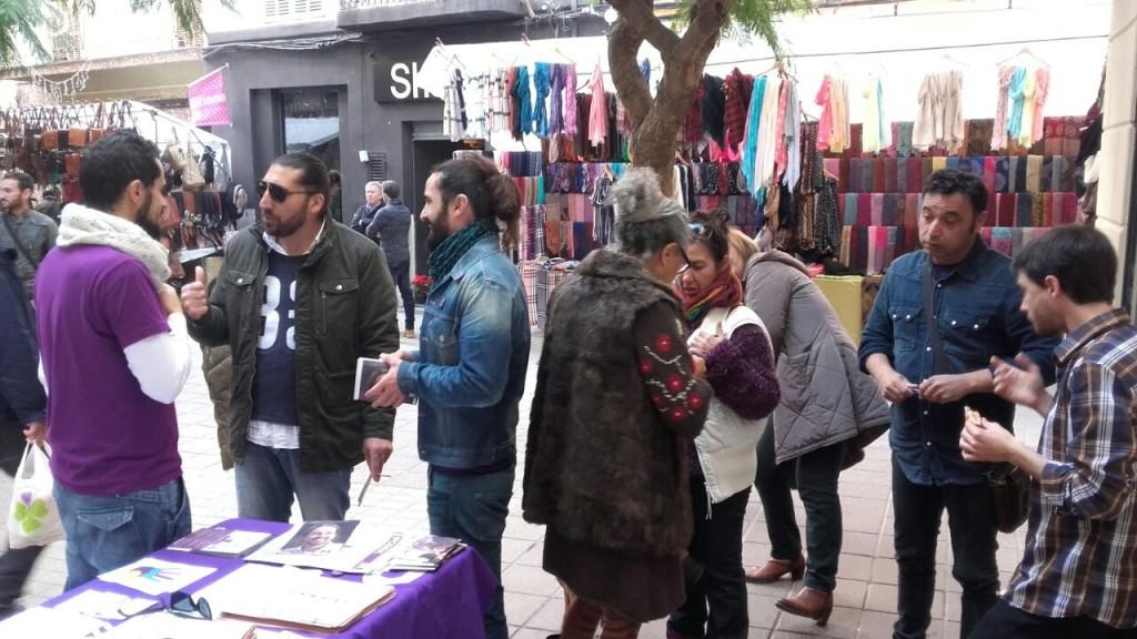 Les candidates al carrer a Felanitx