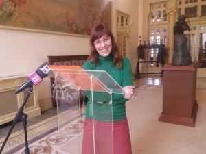 Laura Camargo és portaveu del grup parlamentari