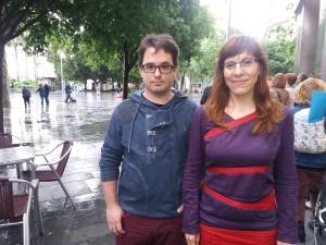 Carlos Saura i Laura Camargo