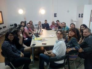 Reunió dels membres del consell ciutadà autonòmic