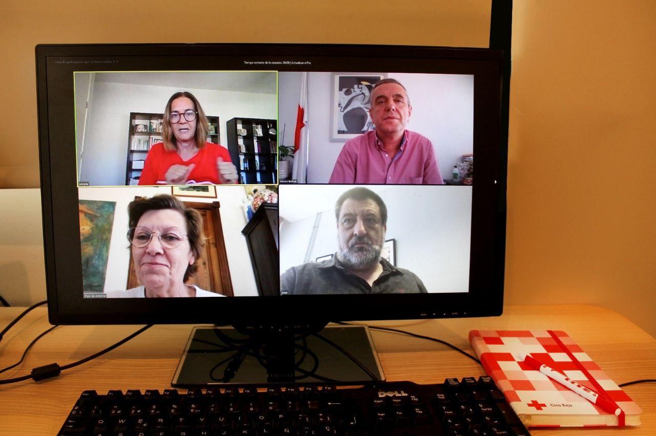 Reunió Podemos IB i Creu Roja
